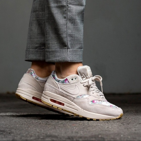Nike Shoes   New Air Max 1 Floral Camo